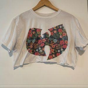 Wutang | Cropped Tee Shirt